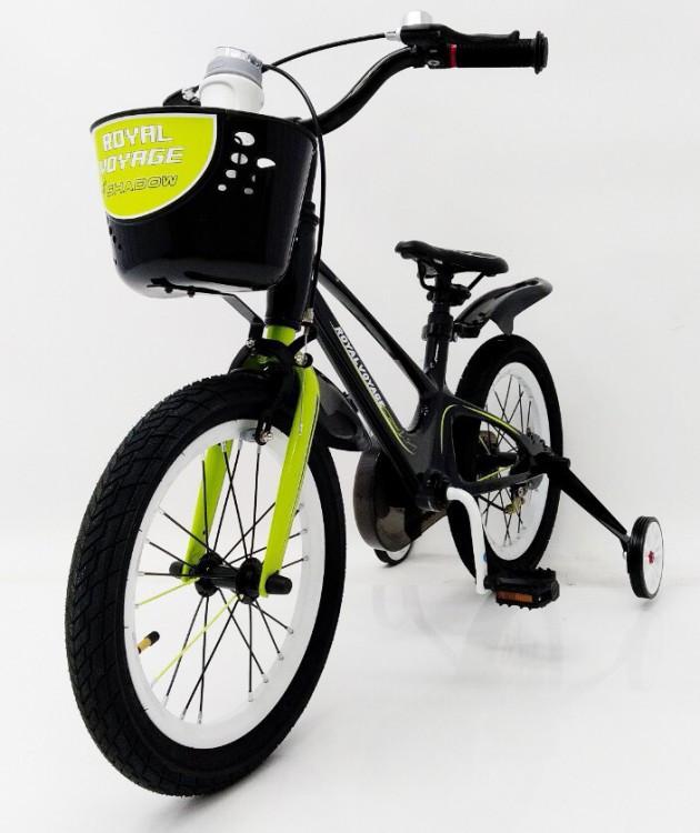 Дитячий двоколісний велосипед 16-SHADOW Магнієва рама (Magnesium) жовтий