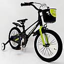 Дитячий двоколісний велосипед 16-SHADOW Магнієва рама (Magnesium) жовтий, фото 2