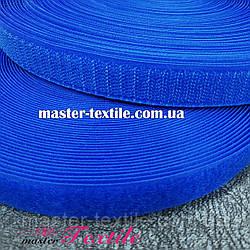 Липучка текстильная 25 мм, 25 метров (электрик)