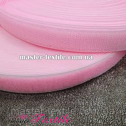 Липучка текстильная 25 мм, 25 метров (розовя)