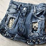 Летний джинсовый костюм на девочку 7. Размер  92 см, 104 см, 110 см, фото 5