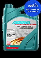Моторное масло Addinol Giga Light MV0530 LL  5w30 5л