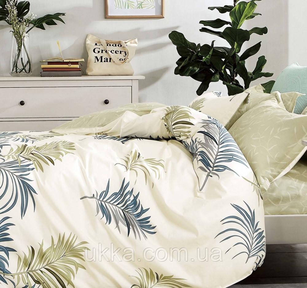 Двуспальное постельное белье ранфорс Вилюта 20107