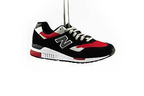 Мужские кроссовки искусственная замша весна/осень красные-черные Classica G 5095 -2