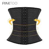 Корсет для талии | FINETOO | утягивающий | дышащий | с застёжкой