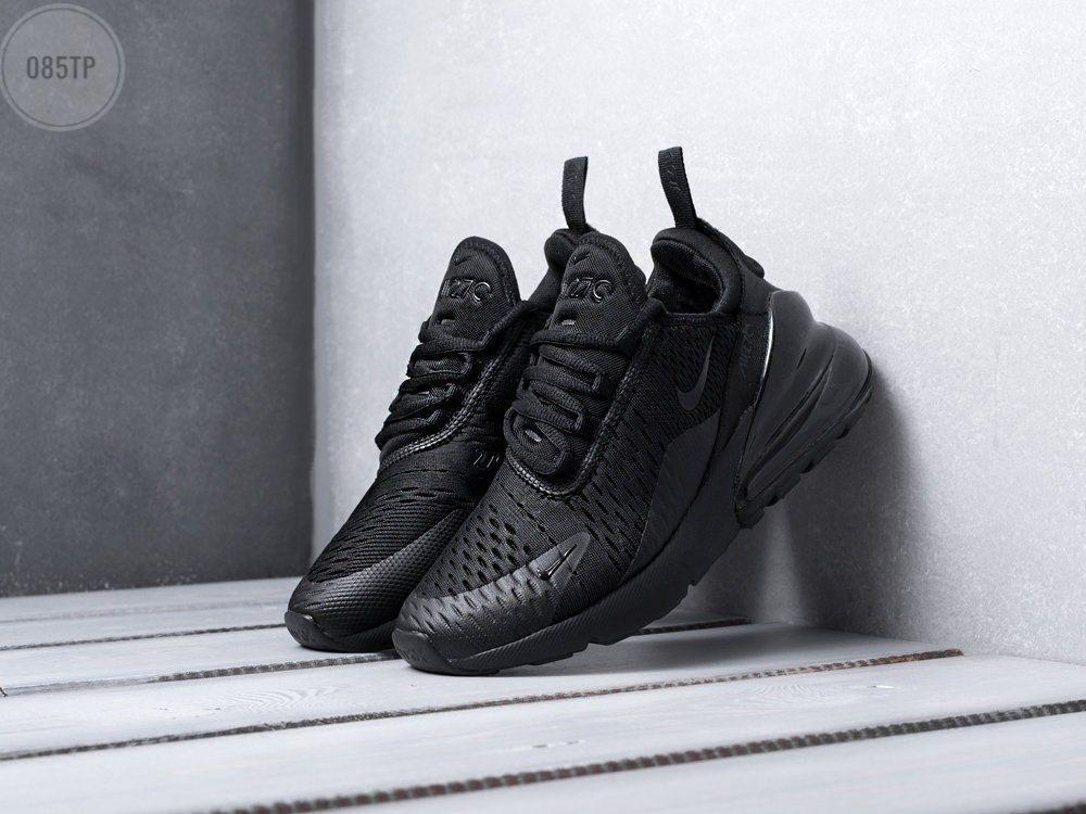 Мужские кроссовки Nike Air Max 270 (черные) 085TP