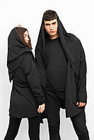 Мантия мужская и женская Летучая мышь черная Dark Side. Живое фото