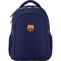 Рюкзак ортопедический Kite Education 8001-2 FC Barcelona, для мальчиков, синий (BC20-8001M-2)