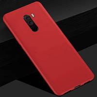 Силиконовый Матовый силиконовый чехол Candy для Xiaomi Pocophone F1