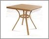 Столик для кафе плетенный садовый