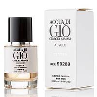Giorgio Armani Acqua Di Gio Pour Homme Absolu EDP 30ml TESTER (парфюмированная вода Джорджио Армани Аква Ди Джио Пур Хомм Абсолю тестер)