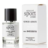 Giorgio Armani Code Sport EDP 30ml TESTER (парфюмированная вода Джорджио Армани Код Спорт тестер)