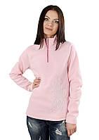 Кофта зимняя женская (размеры S-2XL в расцветках) розовый, M