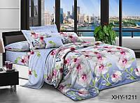 ✅  Двуспальный Евро комплект постельного белья (Поликоттон) TAG XHY1211