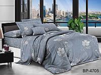 ✅  Двуспальный Евро комплект постельного белья (Поликоттон) TAG BP4705