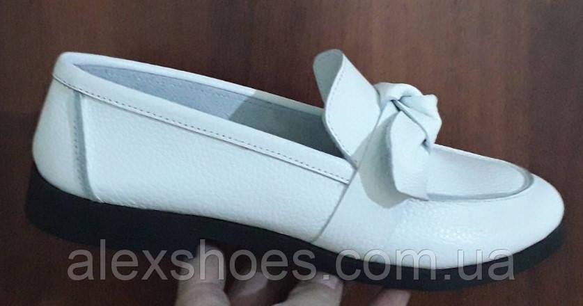 Туфли женские из натуральной кожи от производителя модель БФ6560