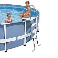 Лестница для бассейнов 132 см Intex 28067, лесницы интекс, фото 1