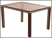 Стол прямоугольный плетенный садовый, фото 1