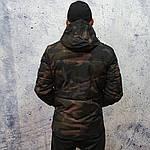 Короткая камуфлированная куртка., фото 3
