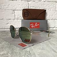 Солнцезащитные очки RAY BAN 3448 ROUND Polarized розовый