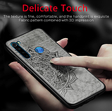 Wolfru тканинний чохол протиударний Xiaomi Redmi Note 7 з майданчиком під магнітний тримач Колір синій, фото 2
