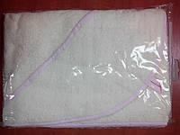 Полотенце для купания малыша с уголком, бежевый