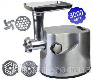 Электрическая мясорубка Domotec MS-2021 3000W