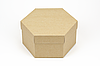 "Коробка ""Шестигранник"" М0066-о4, крафт"