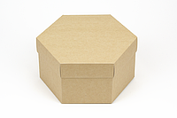 "Коробка ""Шестигранник"" М0066-о4, крафт, фото 1"