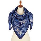 10321-14, павлопосадский платок шерстяной (разреженная шерсть) с швом зиг-заг, фото 3
