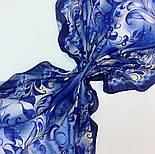 10321-14, павлопосадский платок шерстяной (разреженная шерсть) с швом зиг-заг, фото 6