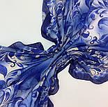 10321-14, павлопосадский платок шерстяной (разреженная шерсть) с швом зиг-заг, фото 4