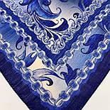 10321-14, павлопосадский платок шерстяной (разреженная шерсть) с швом зиг-заг, фото 2