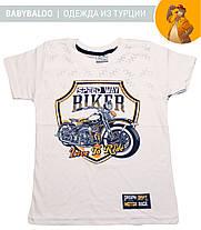 """Стильная футболка для мальчика """"BIKER"""" (от 5 до 8 лет), фото 3"""