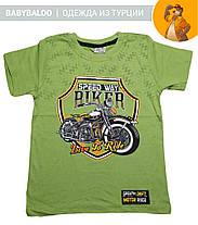 """Стильная футболка для мальчика """"BIKER"""" (от 5 до 8 лет), фото 2"""