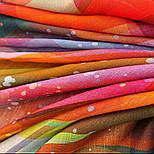 10863-4, павлопосадский платок шерстяной (разреженная шерсть) с швом зиг-заг, фото 8