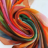 10863-4, павлопосадский платок шерстяной (разреженная шерсть) с швом зиг-заг, фото 2