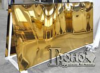 Нержавейка с покрытием под золото (нитрид титана)