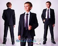 """Костюм подростковый школьный на мальчика мод. 486 (рост 122-176 см) """"ANGELO"""" недорого от прямого поставщика"""