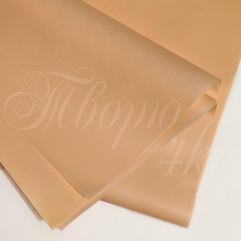 Тишью папиросная бумага светло-персиковый 50 х 70см