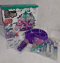 Фабрика слаймов Большой набор с блестками, бусинами, игрушками, фото 3
