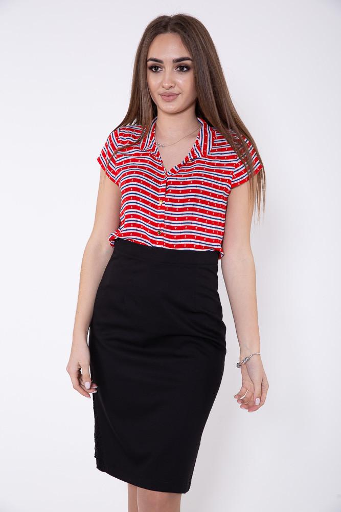 Блузка цвет Красно-белый размер 38