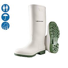 Сапоги резиновые ПВХ защитные для пищевых предприятий Dunlop Pricemastor 380BV Голландия