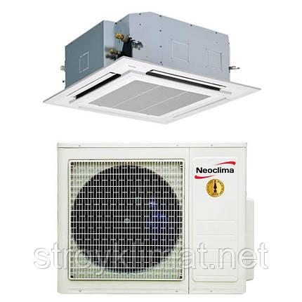 Кассетный инверторный кондиционер NTSI36EH1/NUI36EH3/NTP-24-60AHe, фото 2