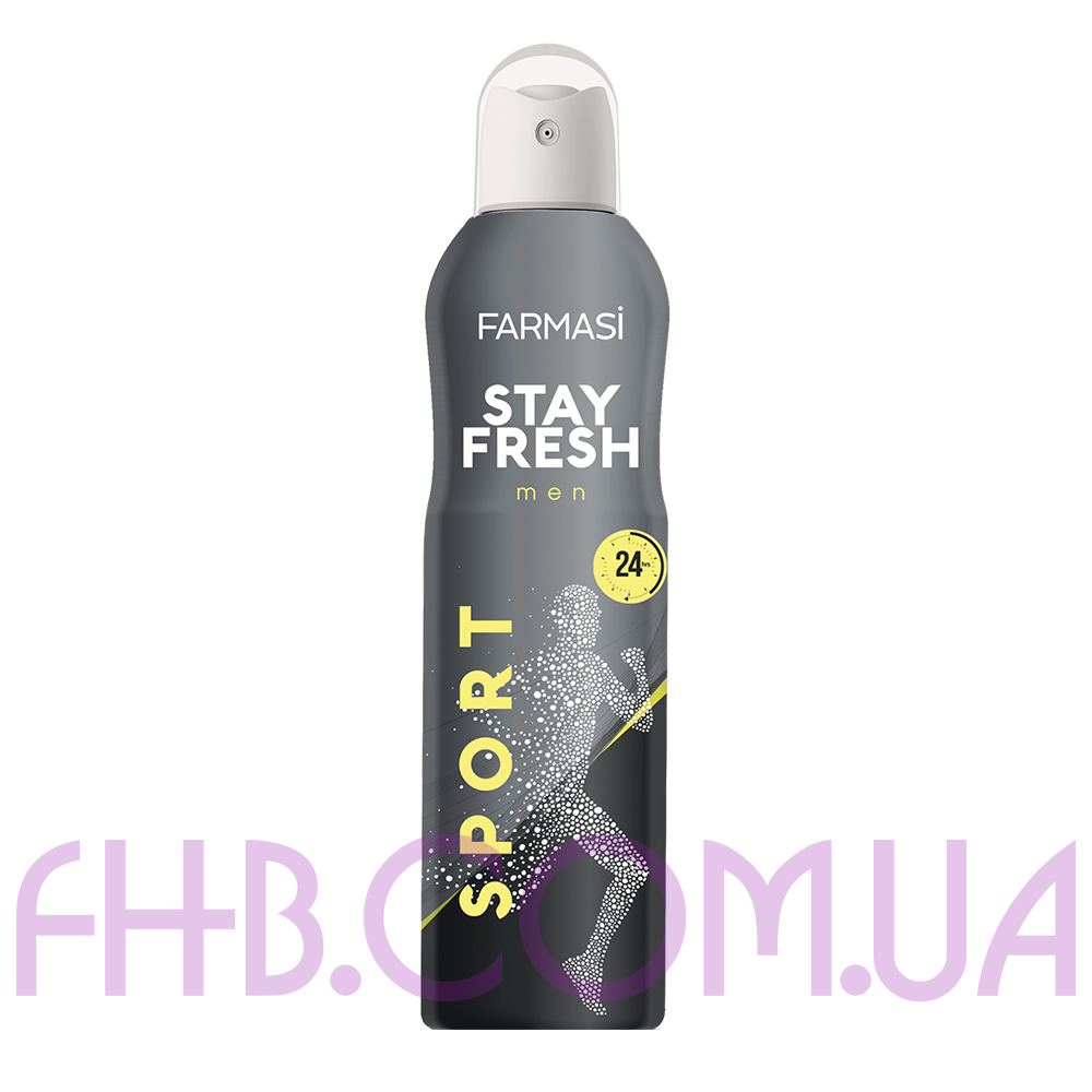 Дезодорант-спрей чоловічий Stay Fresh Sport Farmasi