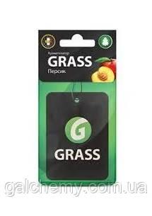 Ароматизатор картонний (персик) ТМ Grass