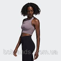 Женская укороченная майка adidas Warp Knit FI9060 (2020/1), фото 3