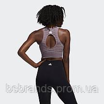 Женская укороченная майка adidas Warp Knit FI9060 (2020/1), фото 2