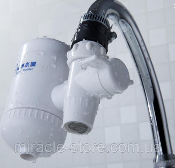 Насадка на кран для очистки проточной воды Water Purifier фильтр для воды