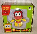 Трансформер Robot Trains робот поезд Duck Утенок Дак, фото 2